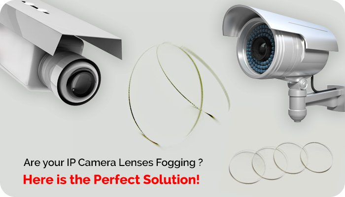 Anti Fog Anti Scratch IP Camera Lens Cover
