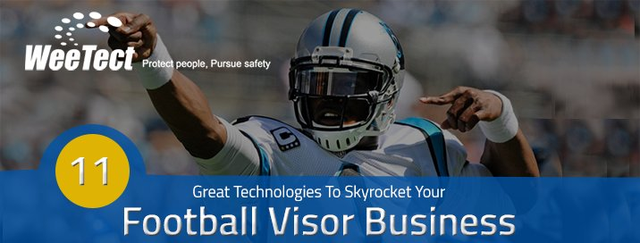 Football visor Technology