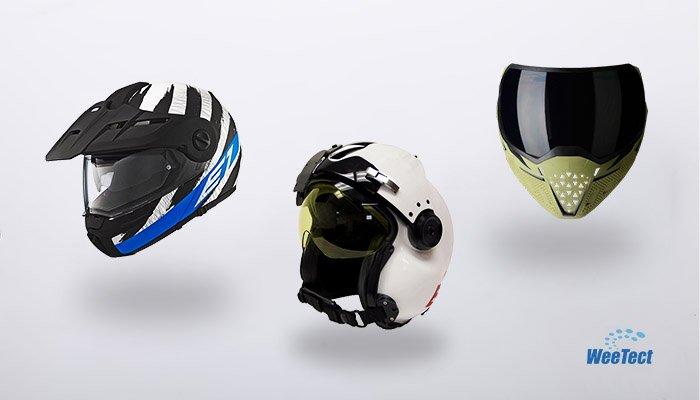 Hud Helmet Visor Hud Visor Manufacturer Weetect