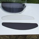 photochromic visor inserts