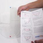 anti fog visor insert installation guide