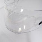 anti fog visor insert on helmet visor
