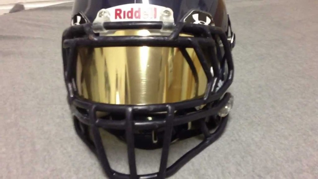 Iridium Football Visor