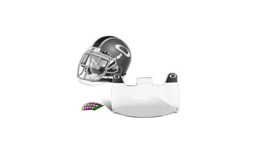 Injection Molded Football Helmet Visor