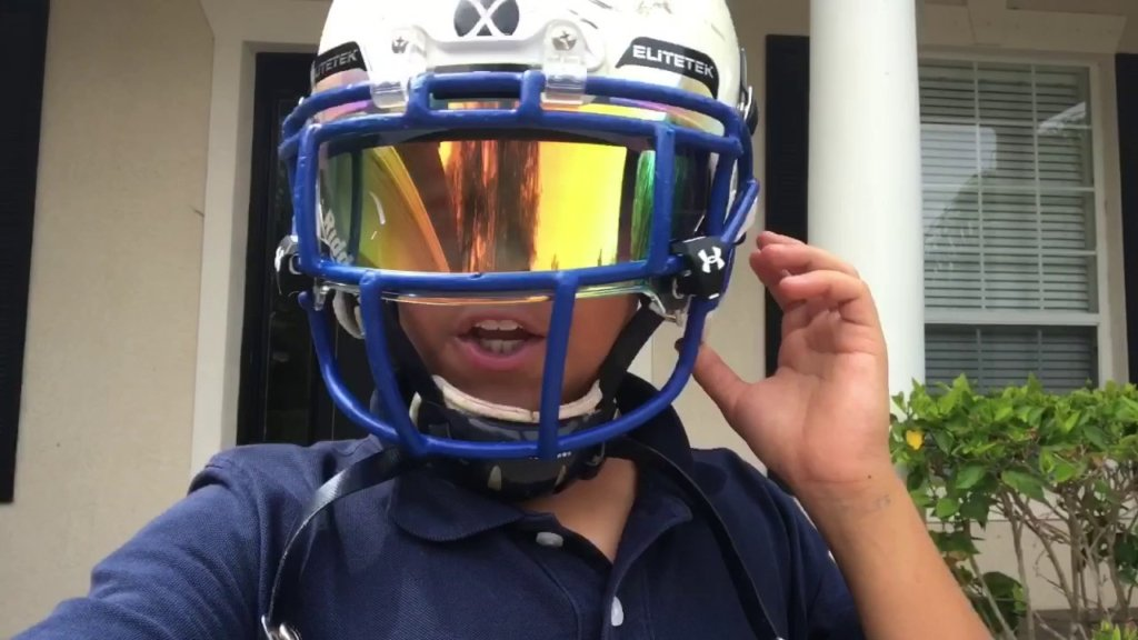 Elite Tek Football Eyeshield Visor