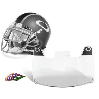Oakley Clear Football Visor