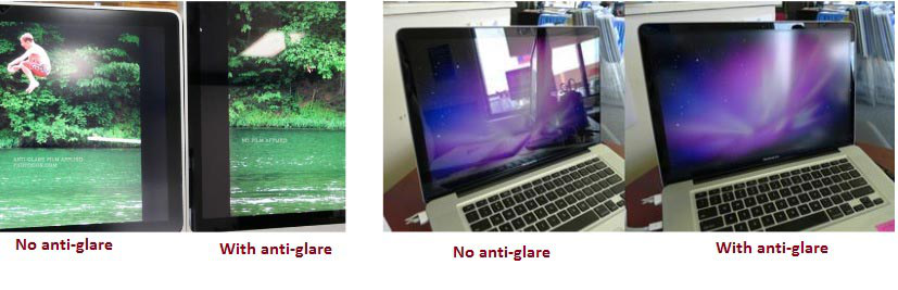 Anti-glare for laptop screen