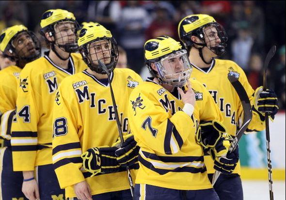 Michigan hockey team
