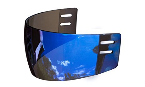 Mirror hockey visor
