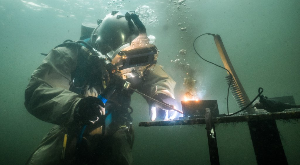 Undersea welding