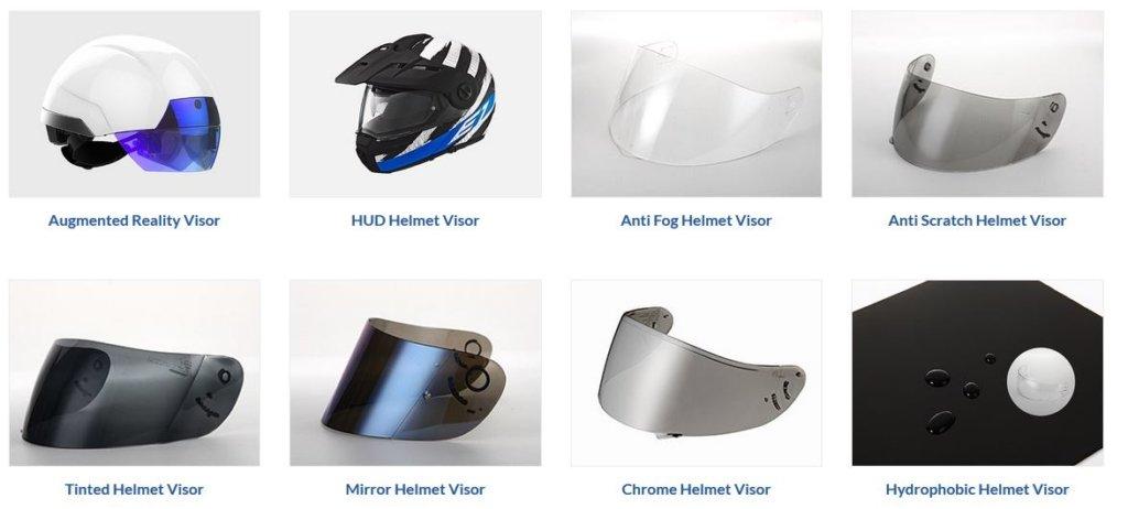 WeeTect helmet visors